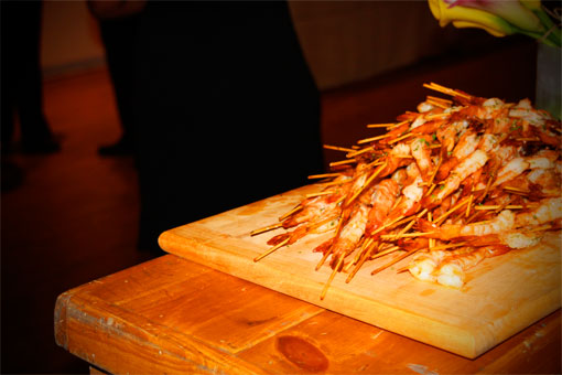 StreetWise Partners Summer Soiree Event - Shrimp Stack