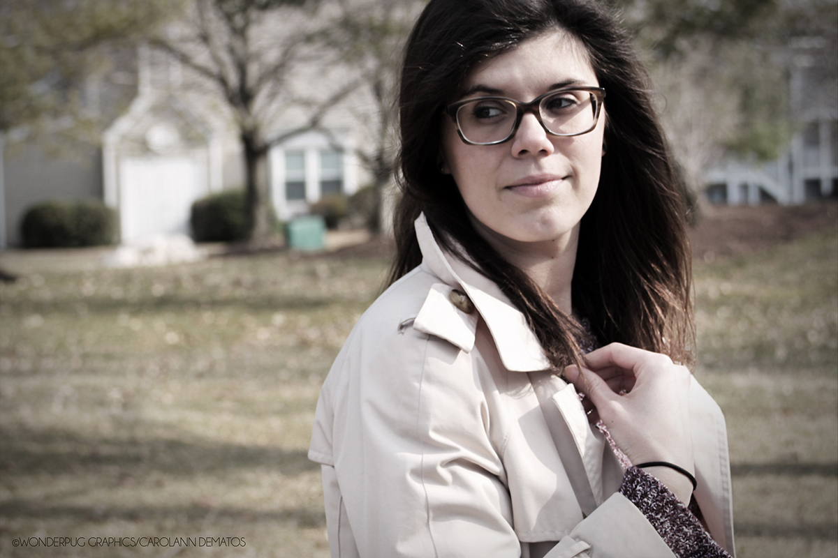 Portraits of Christina DeMatos [Sister-in-Law and Friend] | ©Carolann DeMatos/Wonderpug Graphics