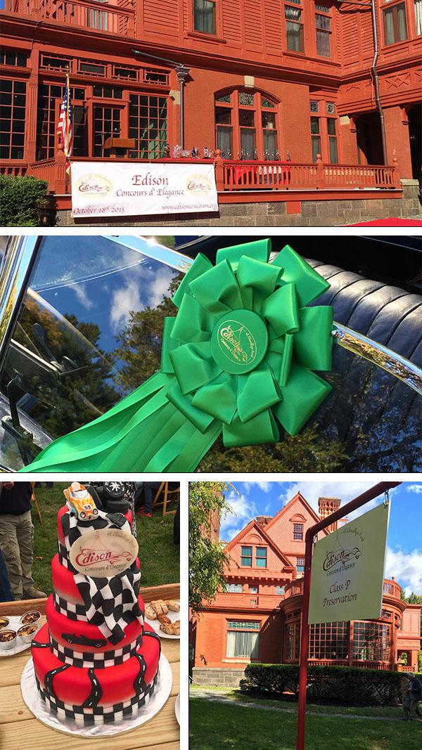 Edison Concours: Classic Car Show Logo Design + Brand Identity
