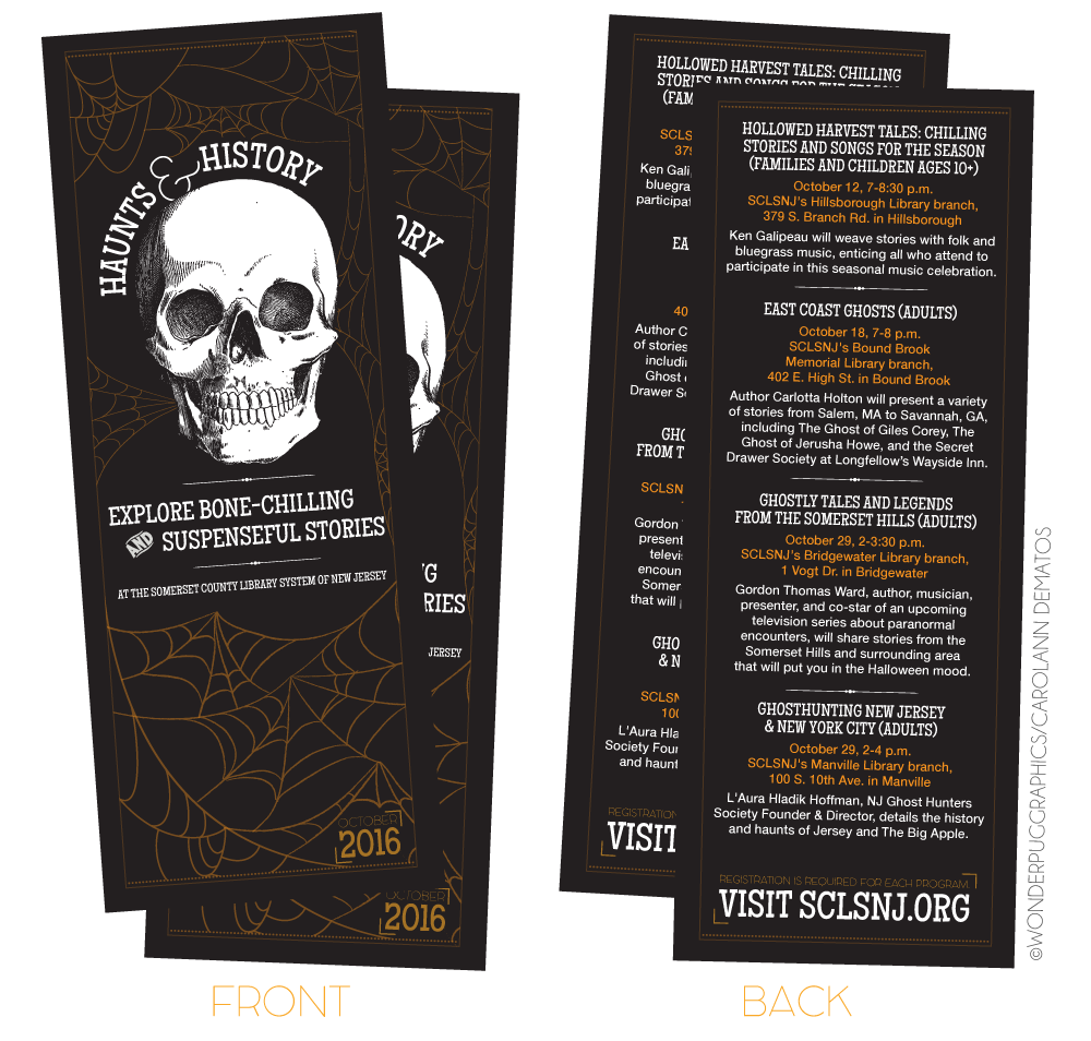 Haunts & History: October 2016 Programming Highlights created by Carolann DeMatos