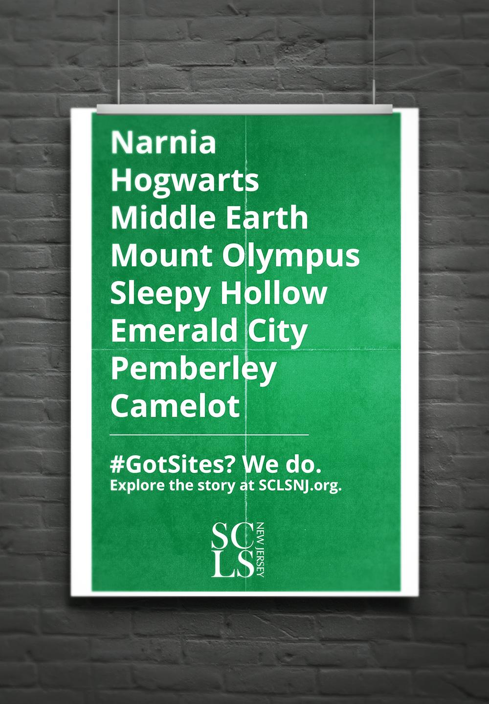 Explore the Story Literacy Campaign: #GotSites by Carolann DeMatos of Wonderpug Graphics