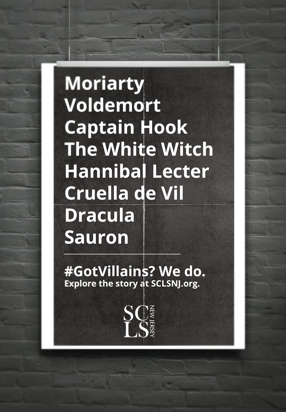 Explore the Story Literacy Campaign: #GotVillains by Carolann DeMatos of Wonderpug Graphics