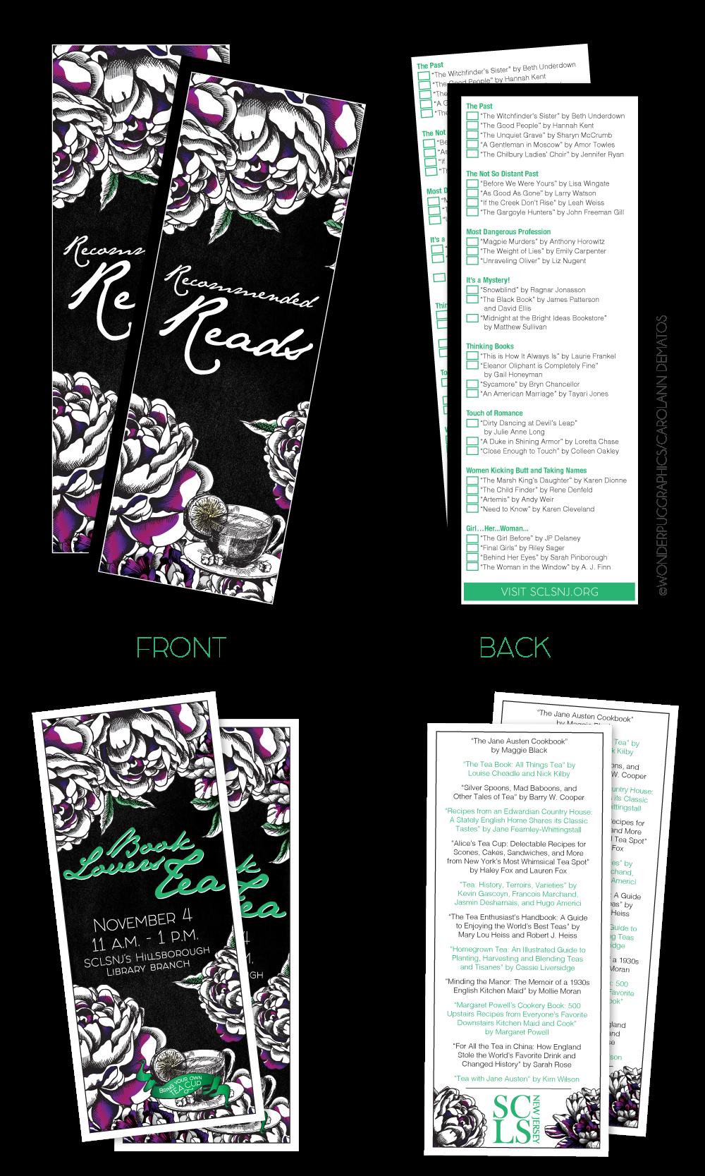 SCLSNJ's Second Annual Book Lover's Tea [November 2017] created by Carolann DeMatos