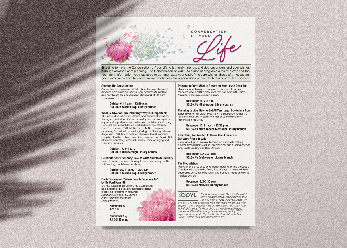 Conversation of Your Life Program Series [October 2018] created by Carolann DeMatos