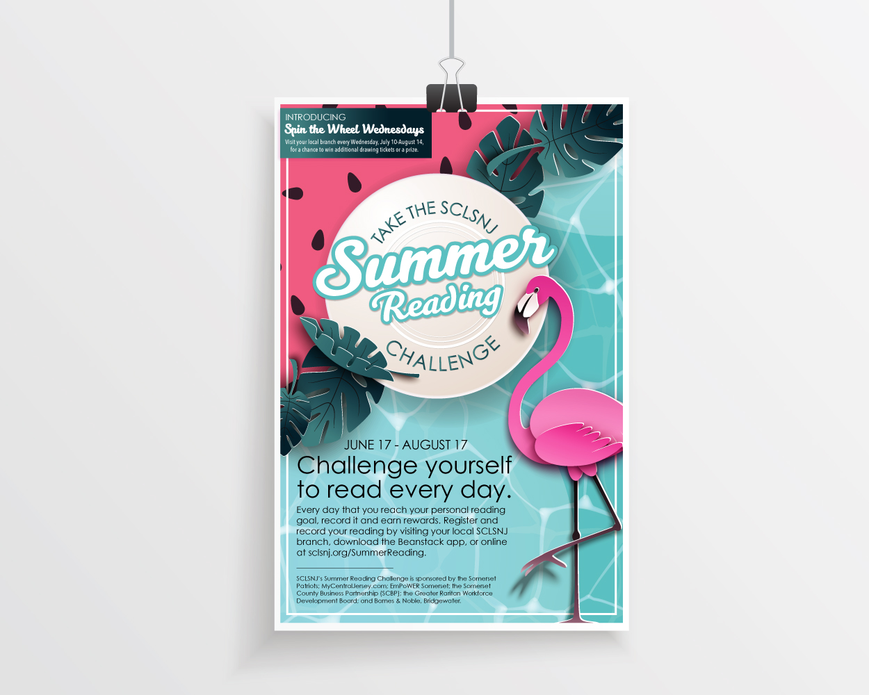 Now Streaming, Summer Reading [Summer Reading Challenge at SCLSNJ / 2019] created by Carolann DeMatos